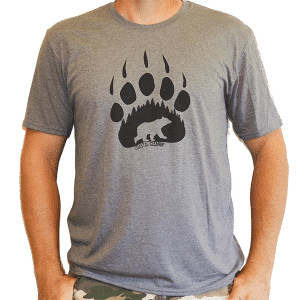 Bear Paw Mens T-Shirt